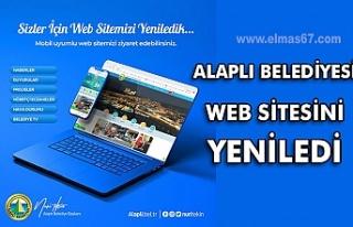 Alaplı Belediyesi web sitesini yeniledi
