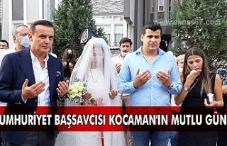 Ankara Cumhuriyet Başsavcısı Kocaman'ın mutlu...