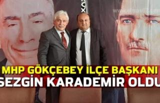 MHP Gökçebey İlçe Başkanı Sezgin Karademir oldu