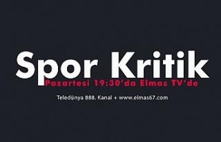 Spor Kritik bu akşam Elmas Tv'de