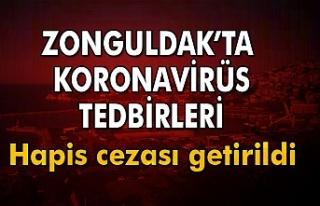 Zonguldak'ta koronavirüs ile mücadelede yeni...
