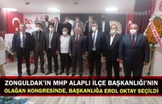 ZONGULDAK'IN MHP ALAPLI İLÇE BAŞKANLIĞI'NIN...