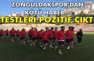Zonguldakspor'dan kötü haber... Testleri pozitif...