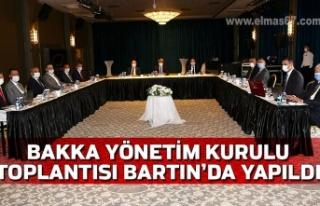 BAKKA Yönetim Kurulu Toplantısı Bartın'da Yapıldı