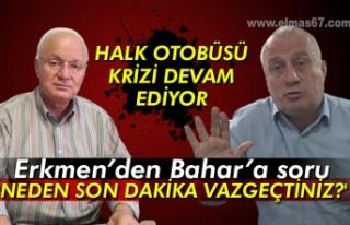 Erkmen'den Bahar'a soru: 'NEDEN SON DAKİKA...