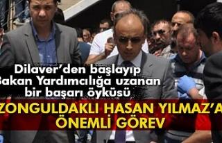 Zonguldaklı Hasan Yılmaz'a önemli görev