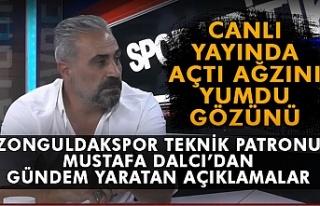 Zonguldakspor teknik patronu Mustafa Dalcı'dan...