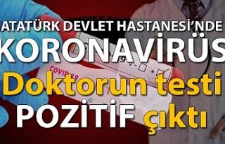 Atatürk devlet Hastanesi'nde koronavirüs…...
