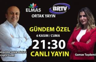 Gündem' programının bu hafta ki konuğu Zonguldak...