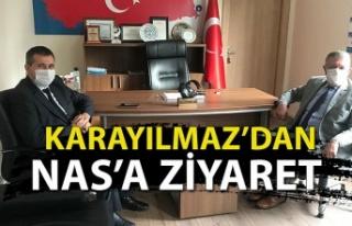 KARAYILMAZ'DAN NAS'A ZİYARET