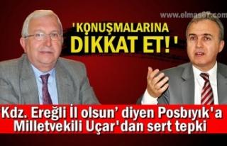 Kdz. Ereğli İl olsun diyen Posbıyık'a Milletvekili...
