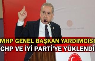 MHP Genel Başkan Yardımcısı CHP ve İYİ Parti'ye...