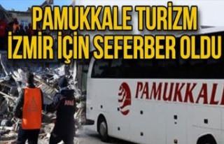 Pamukkale turizm İzmir için seferber oldu
