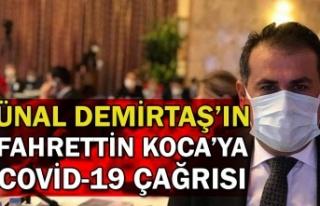 Ünal Demirtaş'ın Fahrettin Koca'ya COVİD-19...