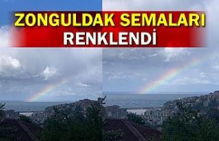 Zonguldak semaları renklendi
