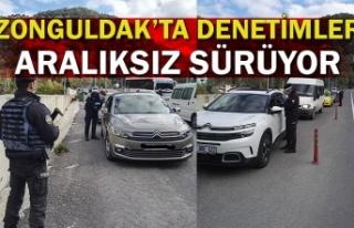 Zonguldak'ta denetimler aralıksız sürüyor