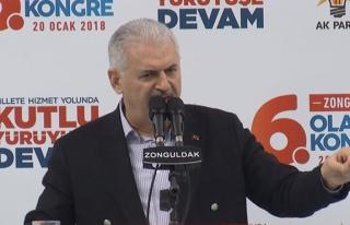 Başbakan Zonguldak'ta neler söyledi... İşte konuşmanın...