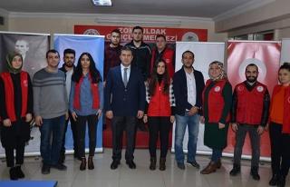 Afrin'e duygusal destek...