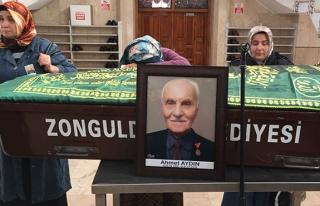 Ahmet Aydın son yolculuğuna uğurlandı...