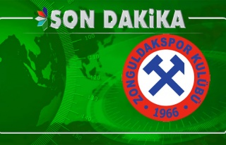 Zonguldakspor'da şok... İstifa etti...