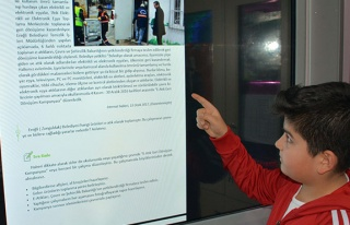 Belediye'nin ödüllü projesi, MEB kitabında...