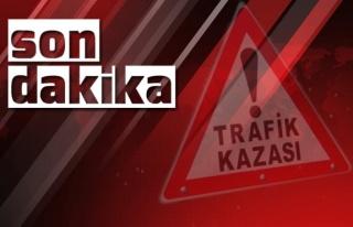 Abdullah Püren Ankara'da kaza yaptı...