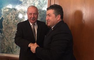 CHP'den Belediye Başkanı'na ziyaret...