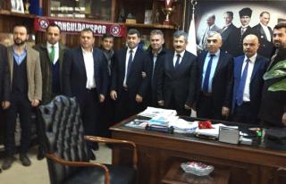AK Parti'den GMİS'e ziyaret...