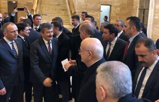 Erdoğan ile bir araya geldiler...