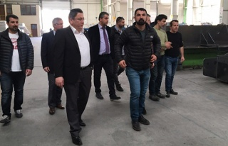 Yalçın 'Ereğli OSB 'Güçlü TSO Güçlü Ereğli'...