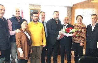 CHP'den Demir'e ziyaret...