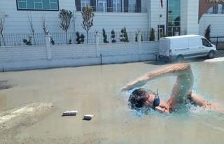 İşte Kozlu'nun olimpik havuzu...