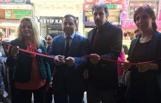 'Ebru El Sanatları' sergisi açıldı...