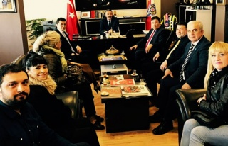 İYİ Parti'den Turanlı'ya ziyaret...