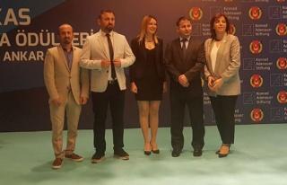 En iyi haber ödülü Aydın Arslanyılmaz'ın...
