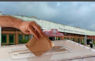 Zonguldak Havalimanı'nda oy verme işlemleri başladı