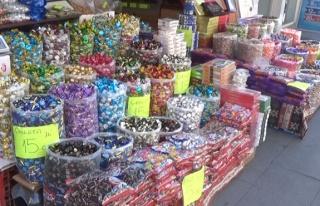 Bayram şekerleri görücüye çıktı
