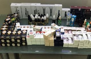 Elektronik sigara satan 2 kişi gözaltına alındı