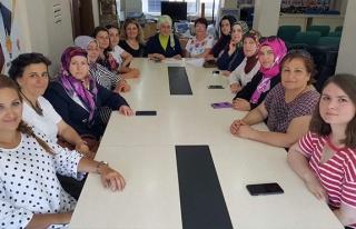 AK Parti'de kadınlar toplandı