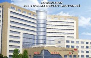 'Hastane inşaatı başladı'