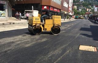 Acılık'a asfalt dökülüyor