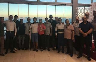 Kızılay'dan şampiyon takıma jest