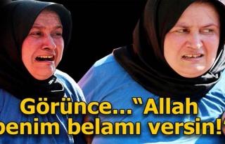 """Evin öyle bir hikayesi var ki... """"Allah benim..."""