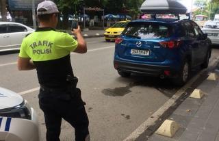 Polis ceza yağdırdı
