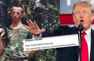 Bu da oldu… Başkan Trump'tan Kıransoy'a yanıt...