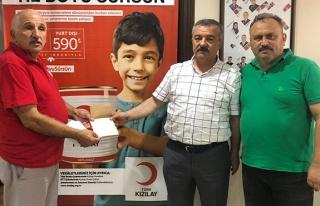 Türkmen'den Kızılay'a ziyaret
