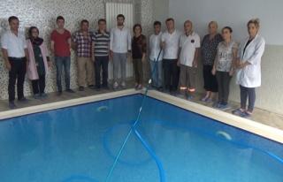 Zonguldak'ta ilk kez havuz suyu operatörlük kursu