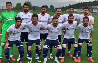 Zonguldakspor ilk hazırlık maçını oynadı......