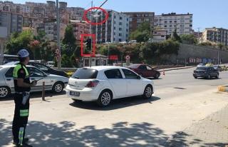 Polis drone ile takip etti: Ceza yağdırdı!