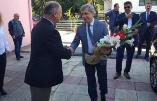 Vali Ahmet Çınar'dan ziyaret